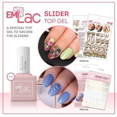 E.MiLac Slider Top Gel, 9/15/30 ml.