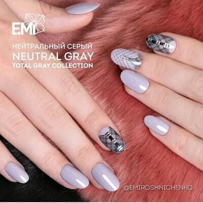 E.MiLac TGR Neutral Gray #125, 9 ml.