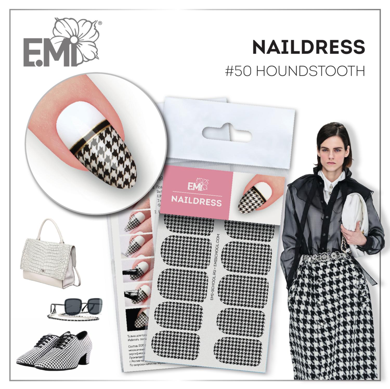 Naildress Slider Design #50 Houndstooth