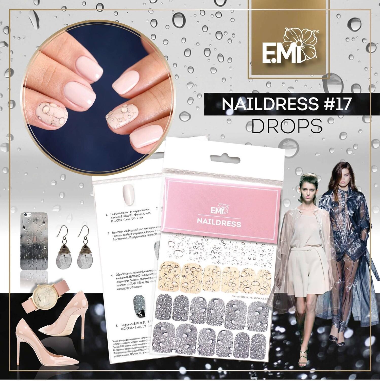 Naildress Slider Design #17 Drops