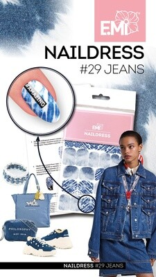 Naildress Slider Design #29 Jeans
