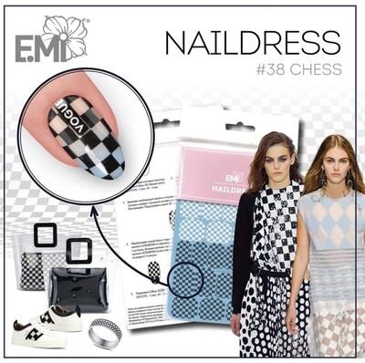 Naildress Slider Design #38 Chess