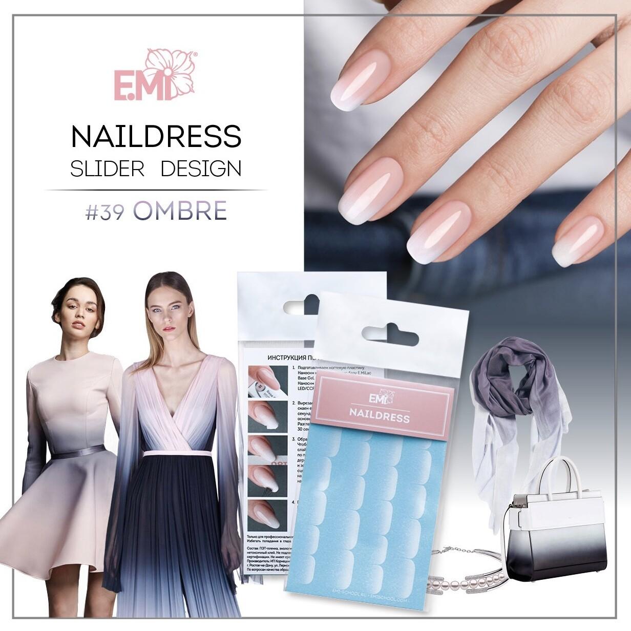 Naildress Slider Design #39 Ombre