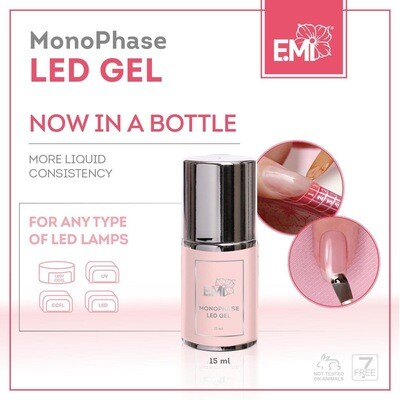 MonoPhase LED Gel in a bottle, 15ml