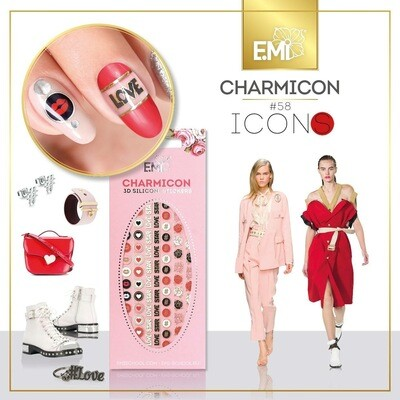 Charmicon Silicone Stickers #58 Icons