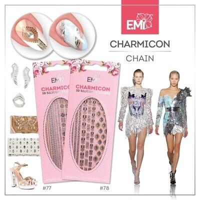 Charmicon Silicone Stickers #77 Chain