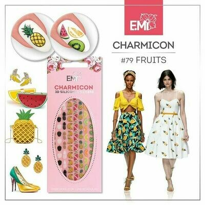 Charmicon Silicone Stickers #79 Fruits