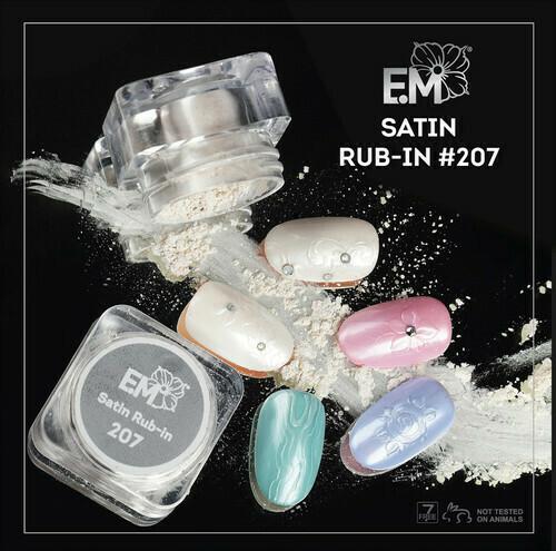 Satin rub-in #207 1,5 g.