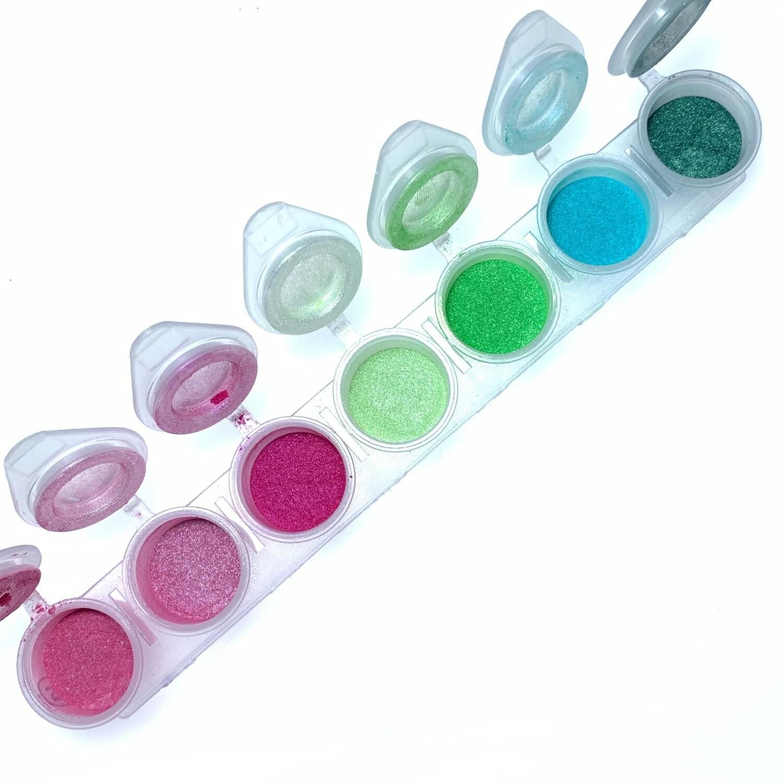 Set of 7 pigments #1