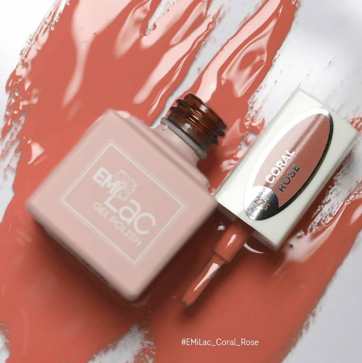 E.MiLac CG Coral Rose #275, 9 ml