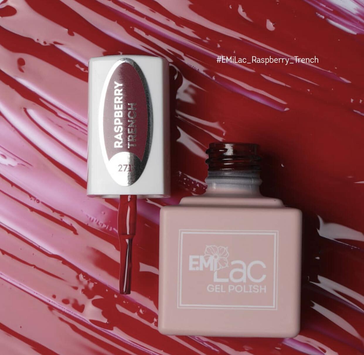 E.MiLac CG Raspberry Trench #271, 9 ml