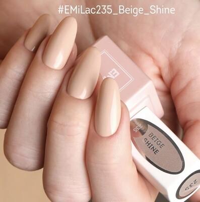 E.MiLac LM Beige Shine #235, 9 ml.