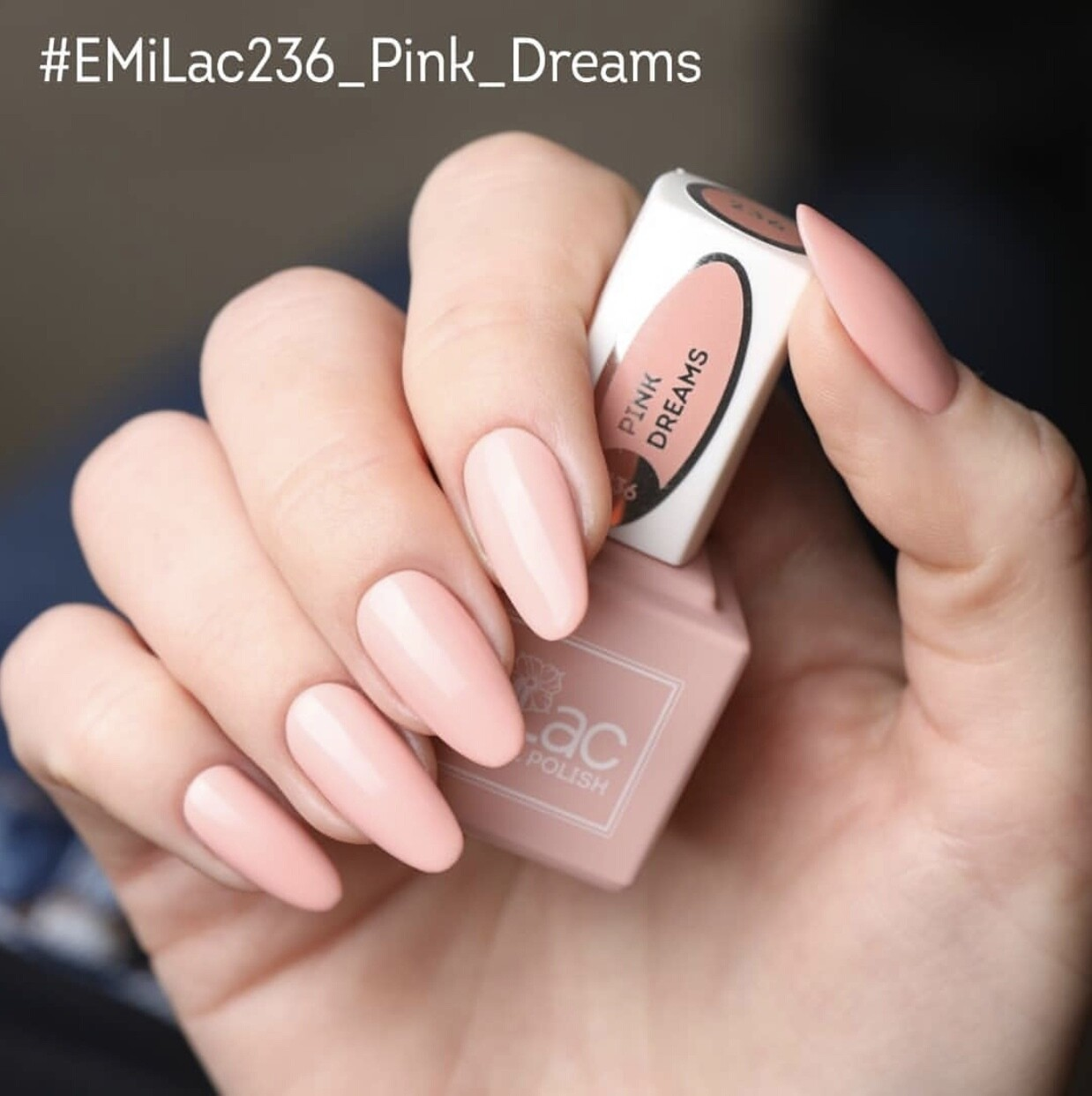 E.MiLac LM Pink Dreams #236 9 ml.