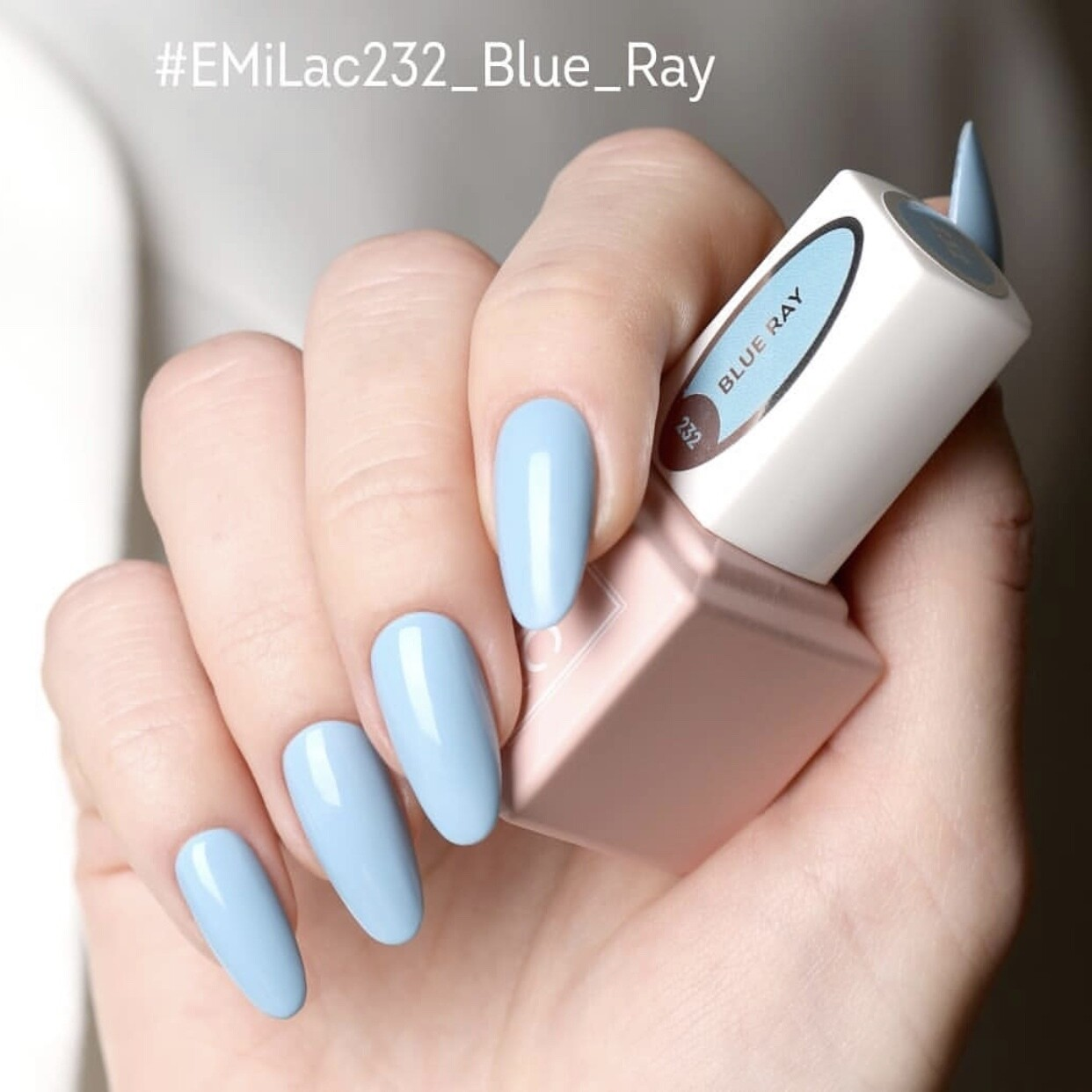 E.MiLac LM Blue Ray #232, 9 ml.