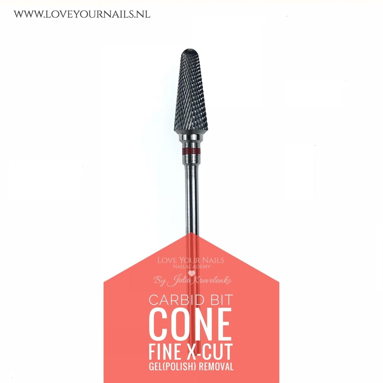 Carbid X-cut cone bit - Fine