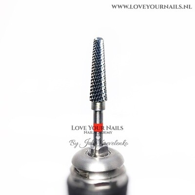 Cone Carbide Drill Bit - Fine - Red