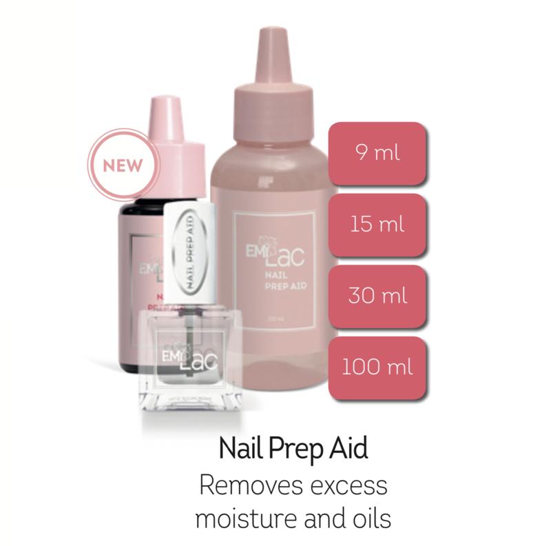 Nail Prep Aid, 9/15/30/100 ml.