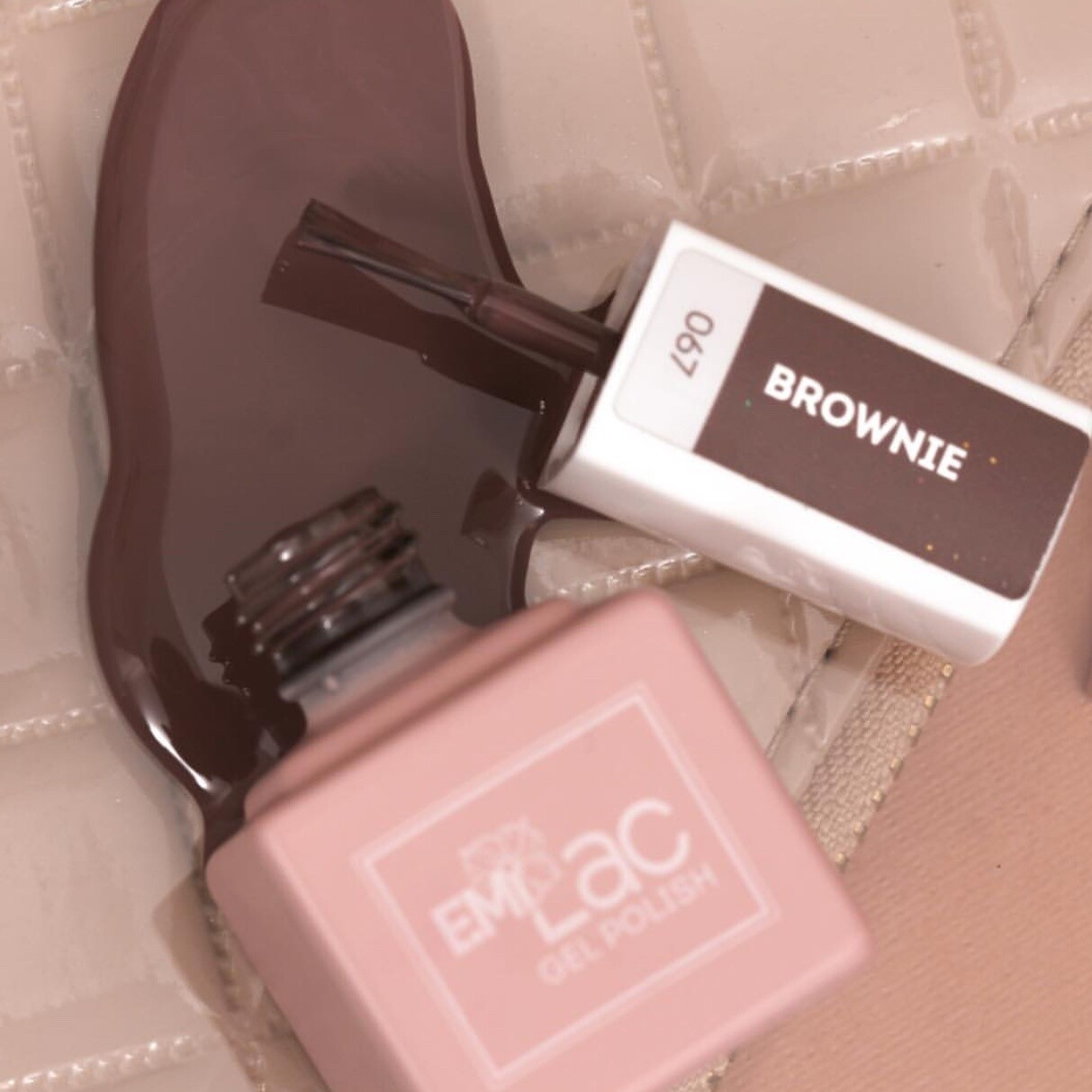 E.MiLac CE Brownie #067 9 ml.
