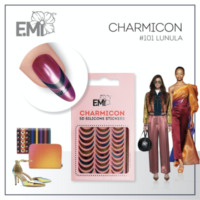 Charmicon Silicone Stickers #101 Lunula
