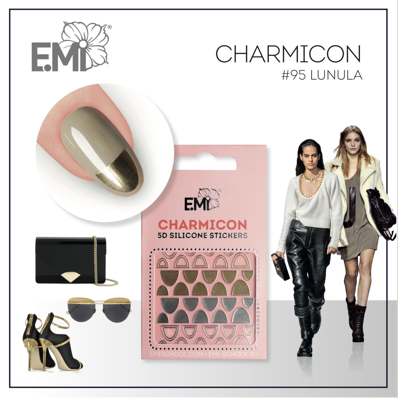 Charmicon Silicone Stickers #95 Lunula