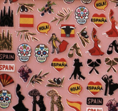 Charmicon Silicone Stickers Spain 1