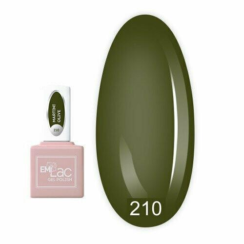 E.MiLac CEL Martini Olive #210, 9 ml.