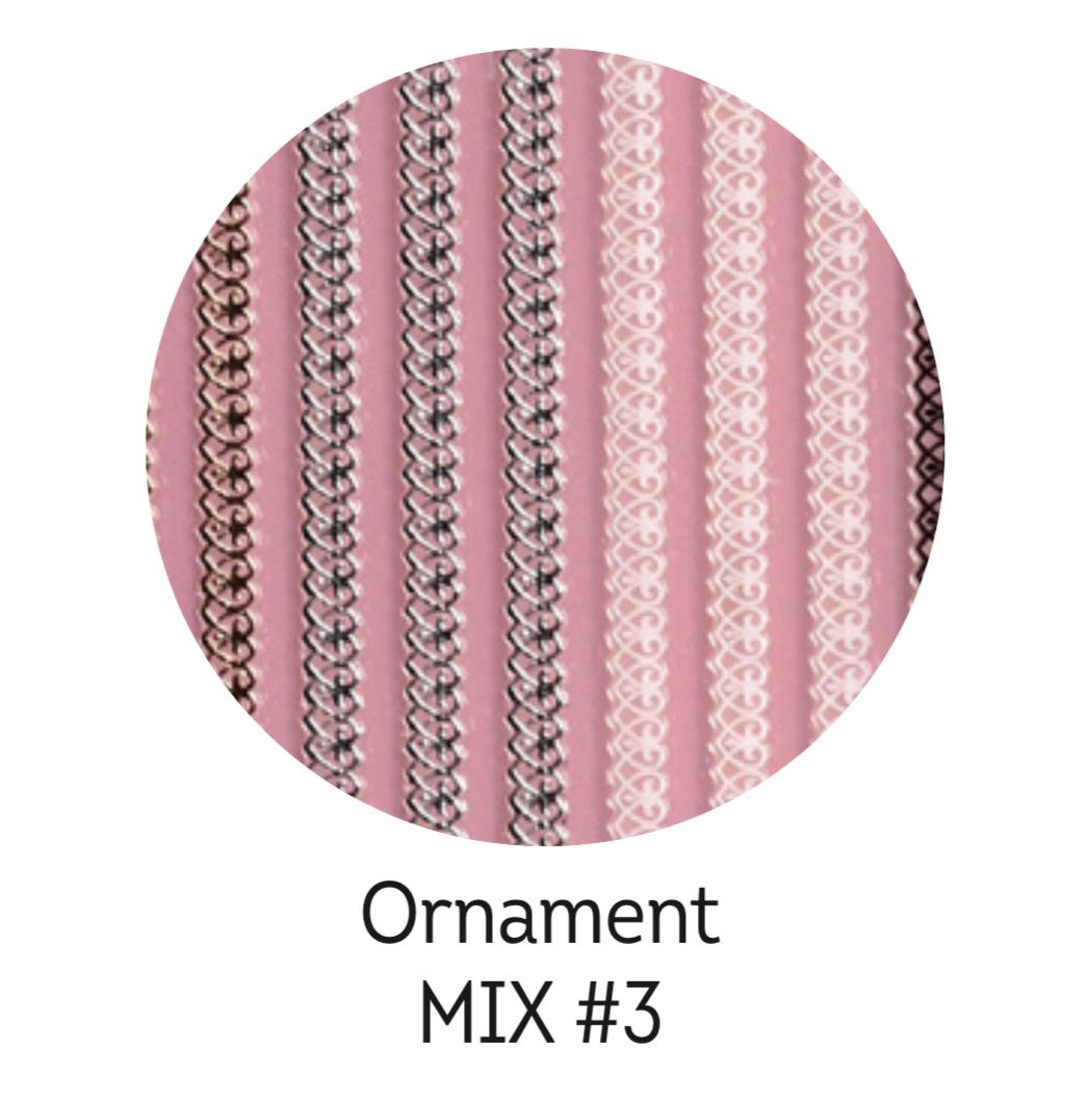 Charmicon Silicone Stickers Ornament MIX #3