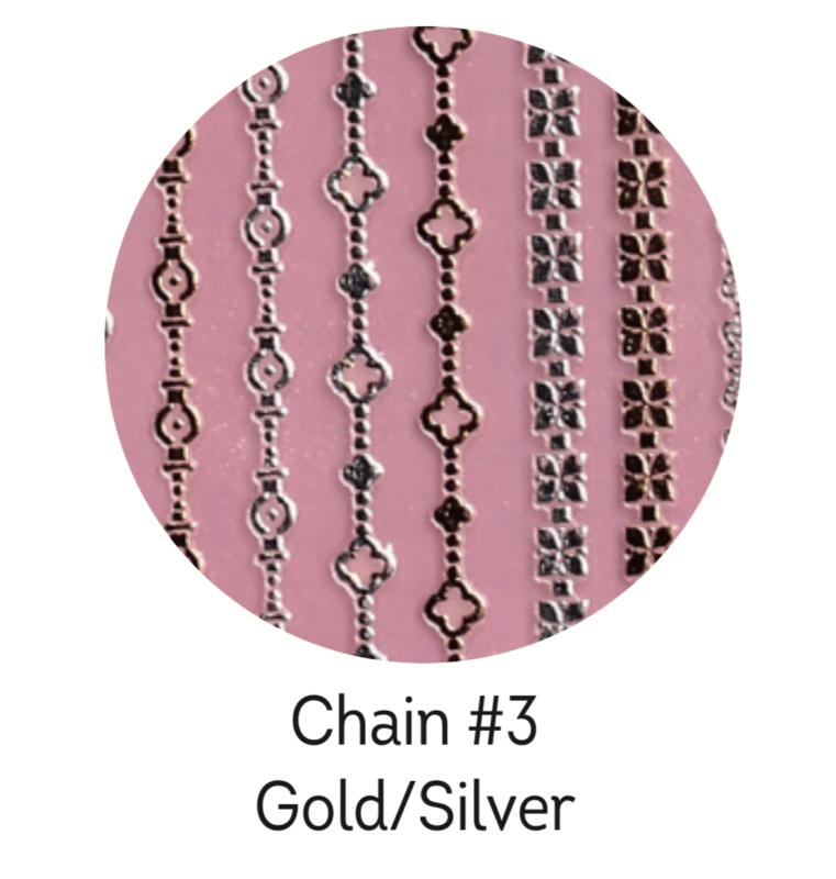 Charmicon Silicone Stickers Chain #3