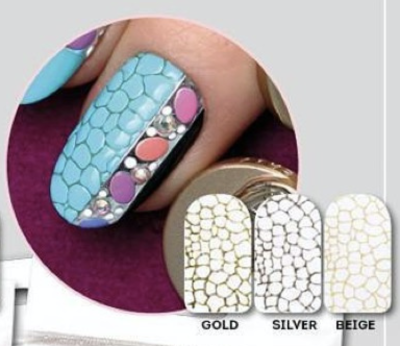 NAILCRUST Pattern Sliders Reptile #3