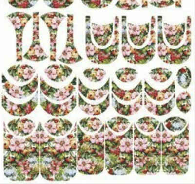 Naildress Slider Design Luxury Garden