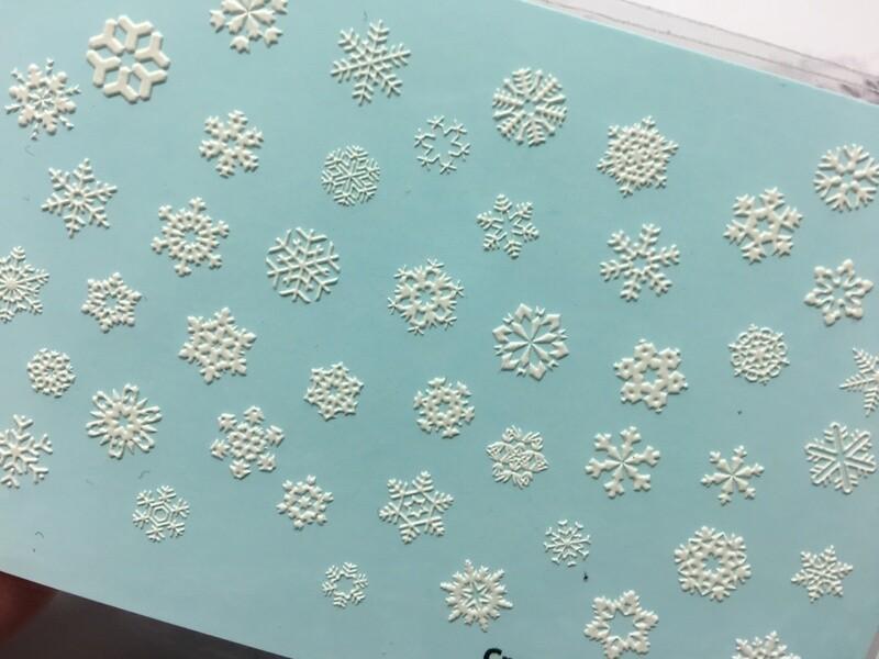 Snowflakes 3D005