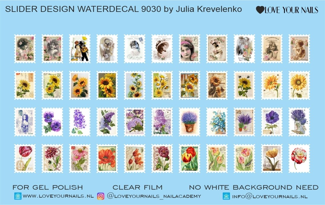 Postage stamps 9030