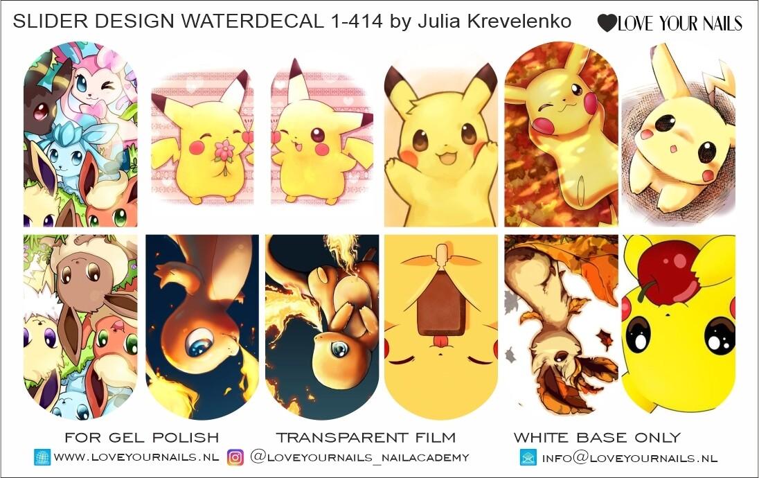 Pokemon Pikachu 1-414