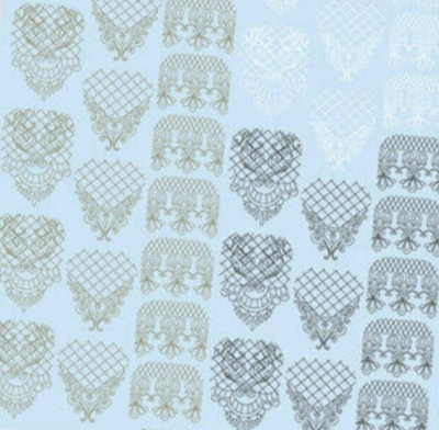 NAILCRUST Pattern Slider White #10