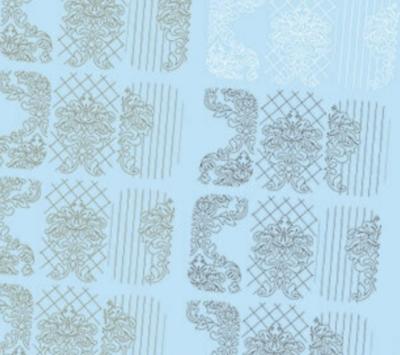 NAILCRUST Pattern Slider White #3