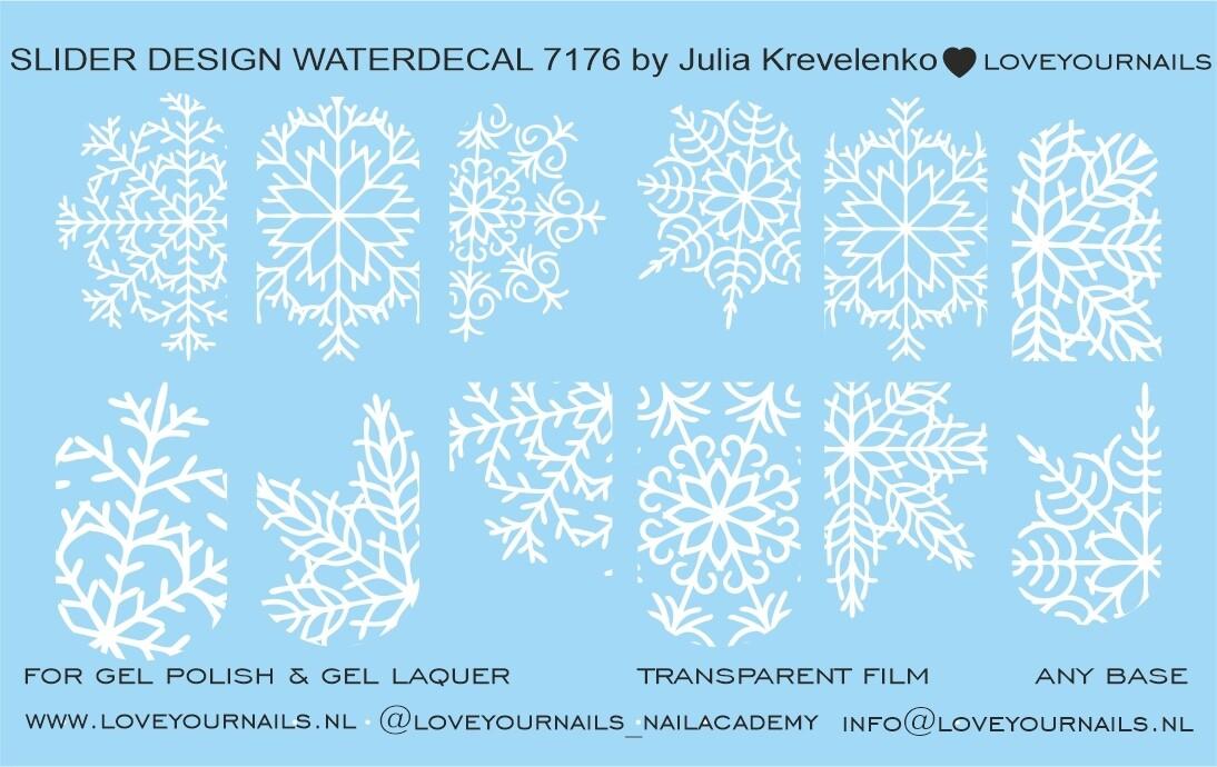 Snowflakes white 7176