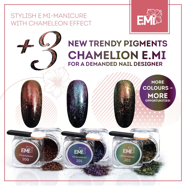 Set of 3 Pigments Chameleon #200-202, 1 g.