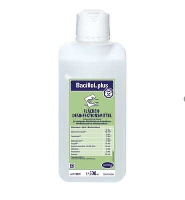 Bacillol plus surface disinfection 0,5 L