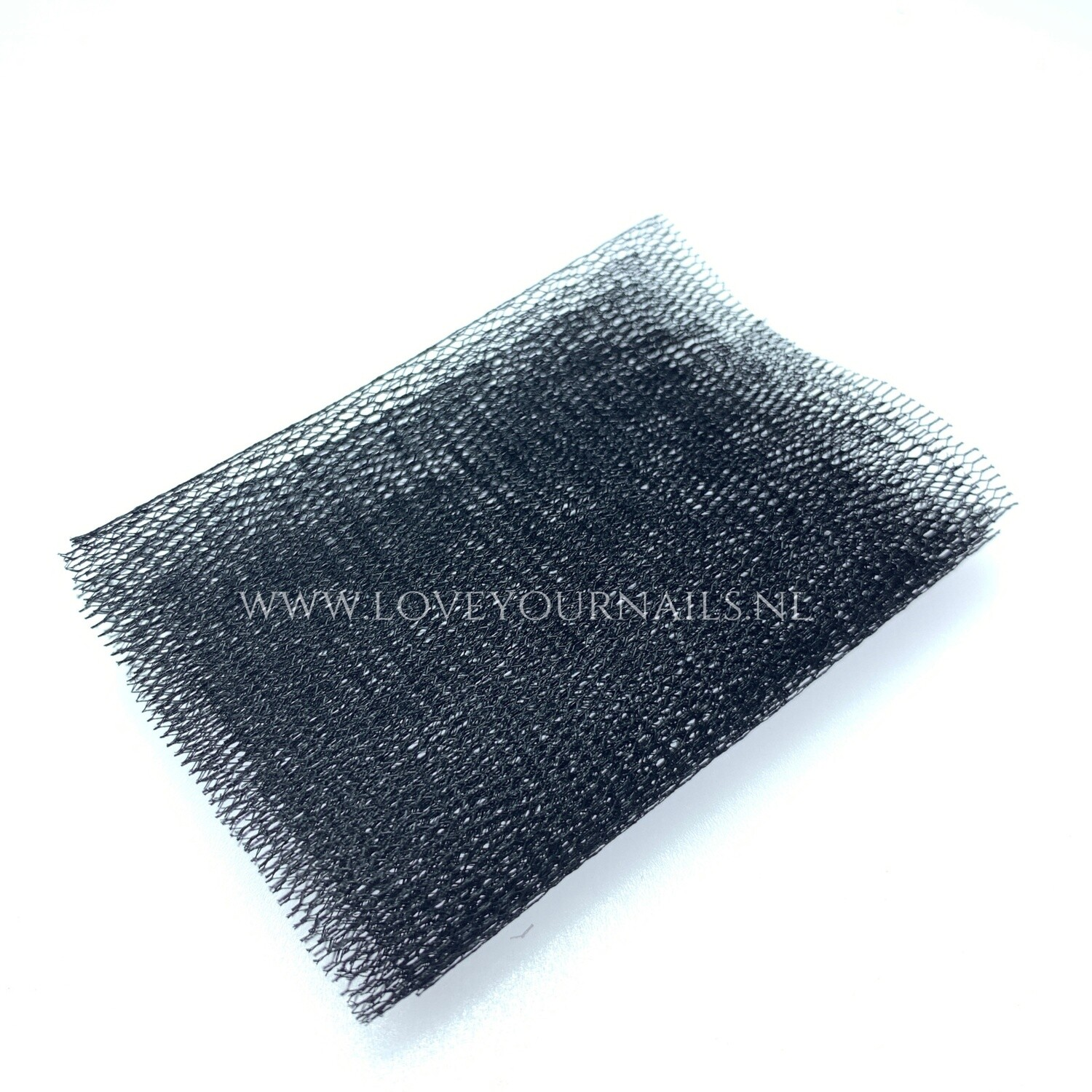 Black Nail Art netting