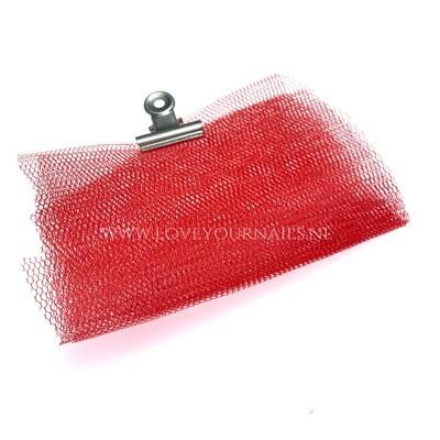 Red Nail Art netting