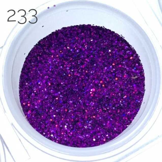 Holographic glitter dust #233