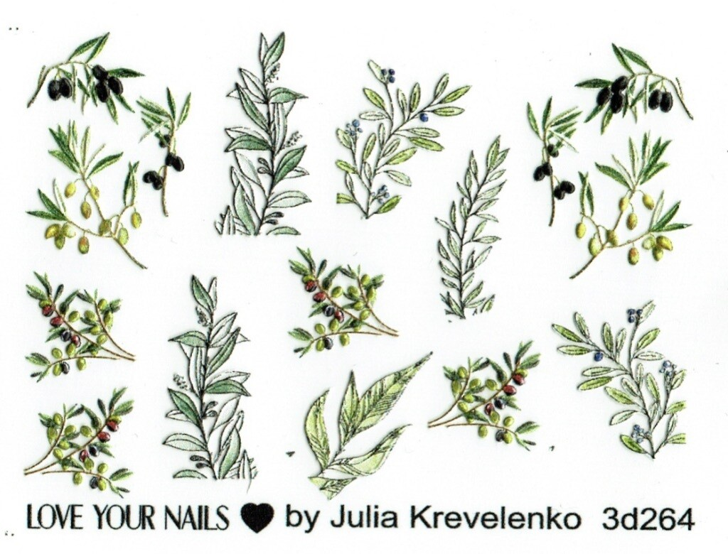 Olive leaves 3D264