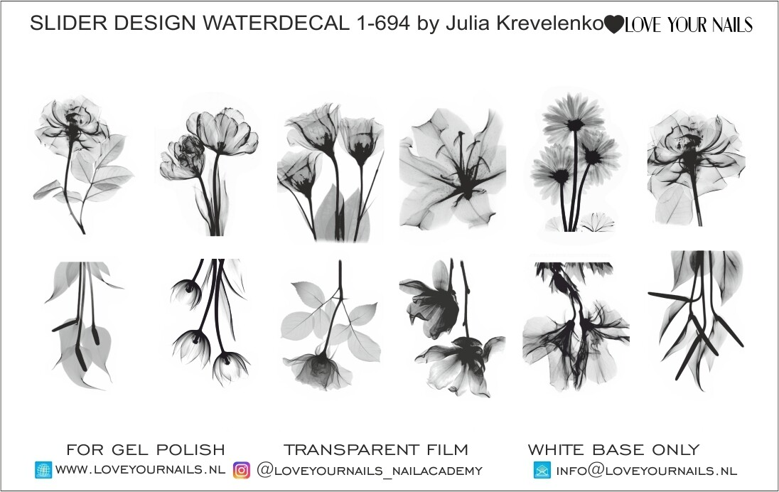 Flowers 1-694