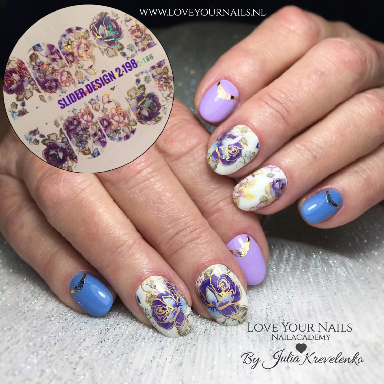 Violet roses 2-158