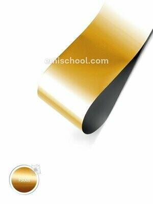 Foil satin Gold, 1.5 m