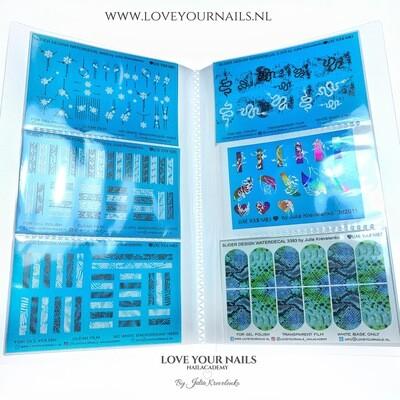 Album and 100 sliders design (waterdecals)
