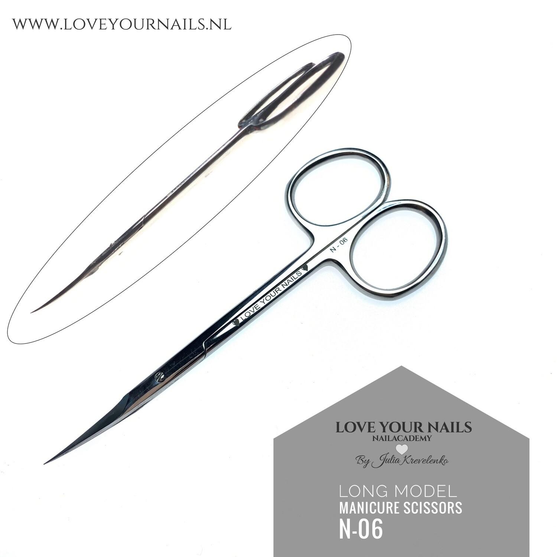 PRO Manicure scissors N-06 incl gratis hoesje!
