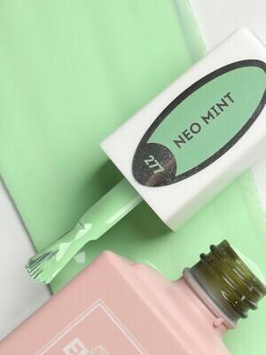 E.MiLac Neo Mint #277, 9ml – inspiring mint shade.