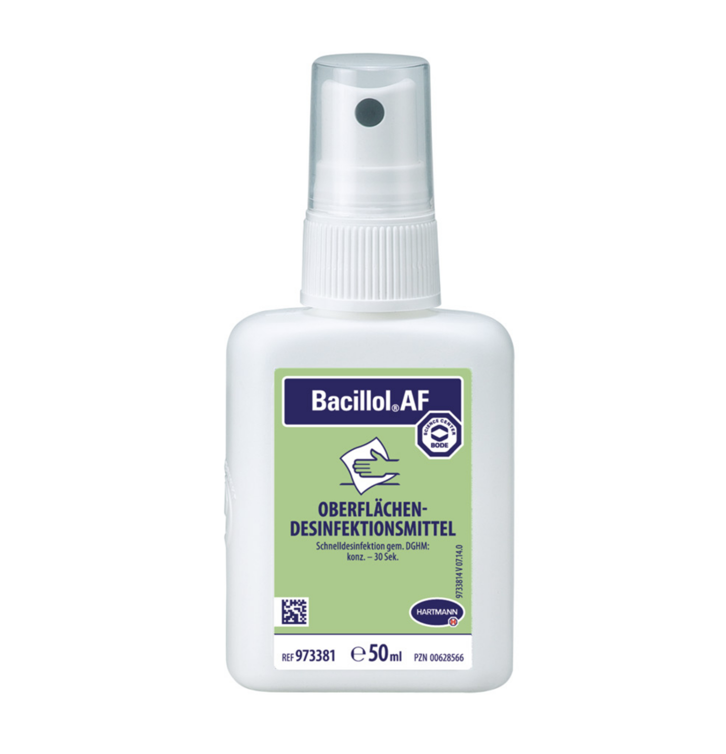 Bacillol plus surface disinfection, 50ml with pomp