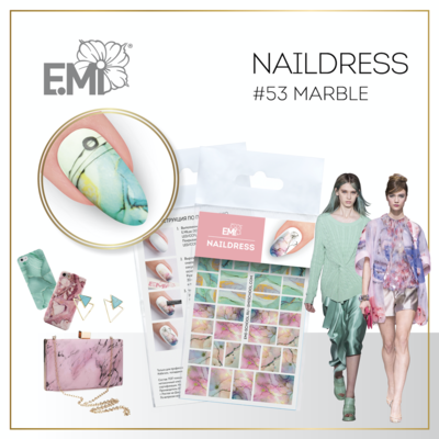 Naildress Slider Design #53 Marble